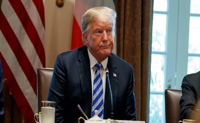 New York Times Published An Opinion Of Unknown On Trump - Sakshi