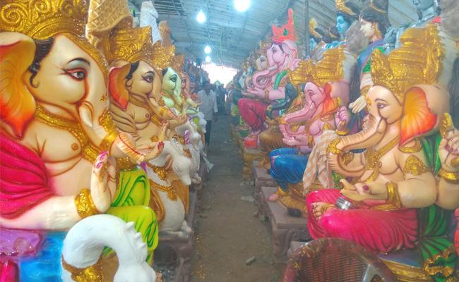 Permissions Mandatory For Vinayaka Chavithi Festival - Sakshi