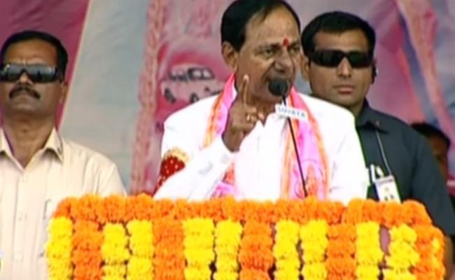 KCR Challenge Jana Reddy In Praja Ashirwada Sabha - Sakshi