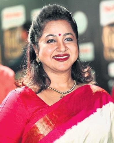 radhika, ,mr radha ravi re entry - Sakshi