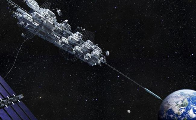 Japan Scientists Are Researching On Space Elevator - Sakshi