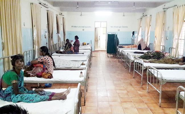 Viral Fever Cases In Ruya hospital Chittoor - Sakshi