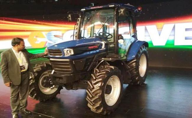 Escorts Limited Launches Automated Tractor - Sakshi