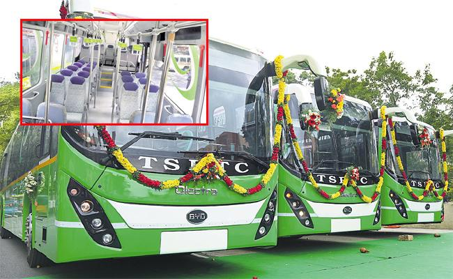Electric Bus Services Soon In Hyderabad - Sakshi