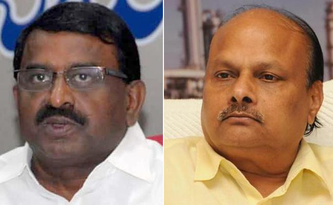 AP Ministers Chit Chat With Media Over Present Politicals - Sakshi