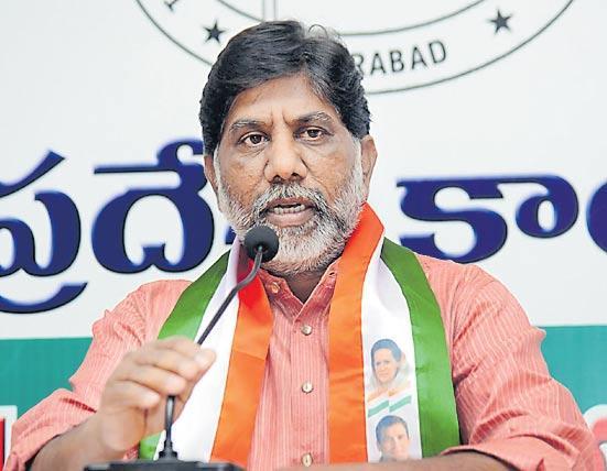 Congress Leader Bhatti Vikramarka Fires on CM KCR - Sakshi