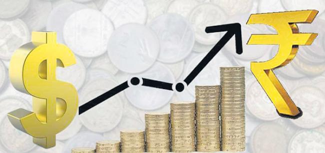 Rupee Closes At 71.73 Against Dollar, Breaks 7-Day Losing Streak - Sakshi