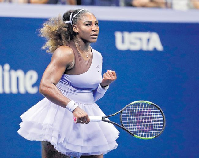 Serena Williams a Win Away from All-Time Grand Slam Glory - Sakshi