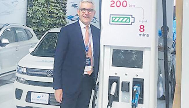 200 kilometers with 8 minutes charging - Sakshi