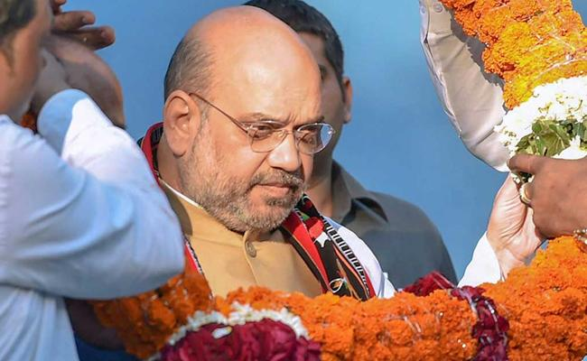 Amit Sha May Continew As BJP Cheif For Lok Sabha Polls - Sakshi