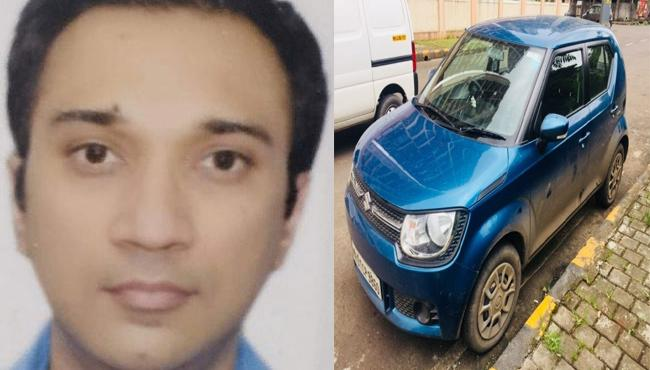 HDFC Vice President missing from Mumba, Car  Found with Blood stains - Sakshi