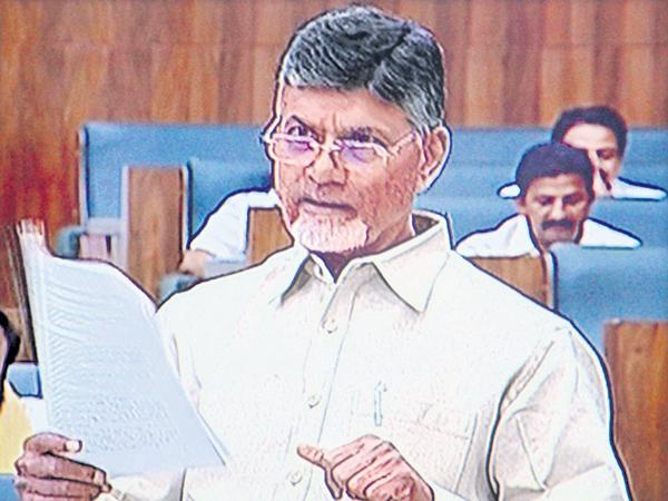 Chandrababu says about River connectivity in the debate of assembly - Sakshi