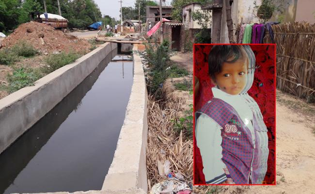 Child Death In Crop Canal PSR nellore - Sakshi