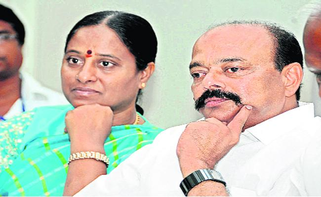 Konda Couple Serious With TRS High Command Decision - Sakshi