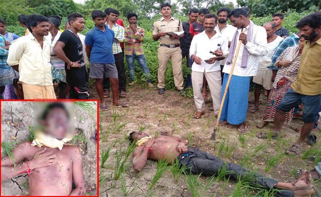 Man Murdered Brutally In Khammam - Sakshi