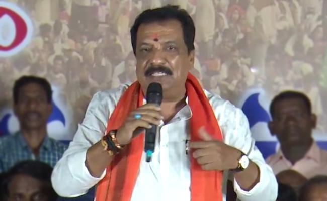 Nandeshwar Goud Goodbye To BJP Join In Congress - Sakshi