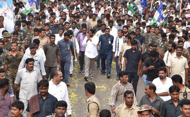 YS Jagan Praja Sankalpa Yatra 258 Day Schedule - Sakshi