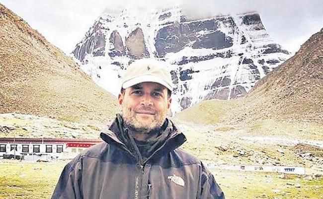 Shekhar Gupta Article On rahul Gandhi Visit Manasarovar - Sakshi