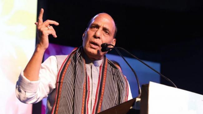 Rajnath Says Opposition Has No Leader Like PM Modi   - Sakshi