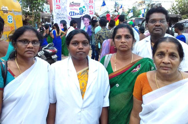 No pay for 6 months to GVMC hospital Staff nurse - Sakshi