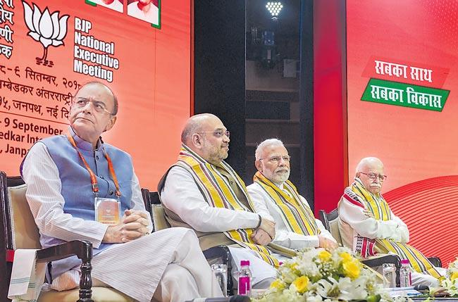 Amit Shah's Tenure as BJP President to Extend Till 2019 Parliamentary Elections - Sakshi