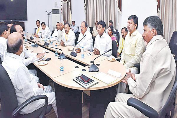 AP CM Chandrababu comments on BJP Government - Sakshi