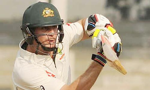 Marsh scores unbeaten 86 as Australia A score 290/6 on Day 1 - Sakshi