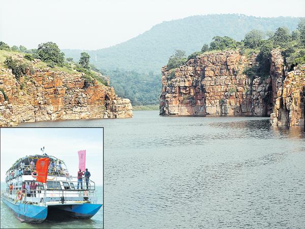 Launch from Nagarjuna Sagar to Srisailam - Sakshi