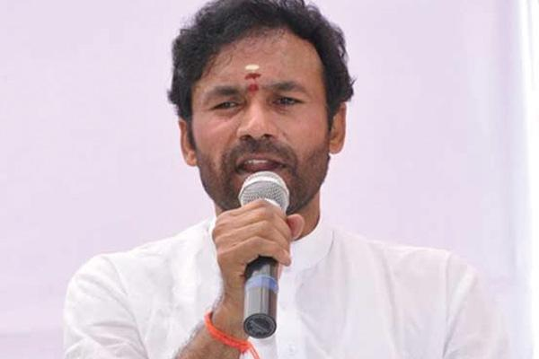 Kishan reddy fired on chandrababu naidu  - Sakshi