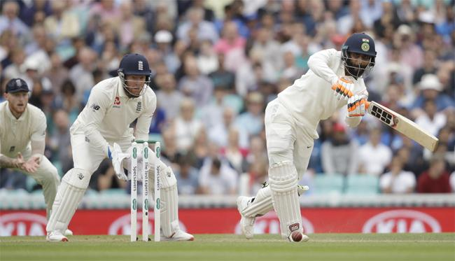 India vs England Fifth Test India All Out In First Innings - Sakshi