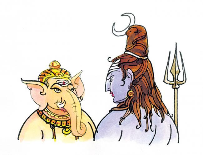 Shiva worshiped Ganapati - Sakshi