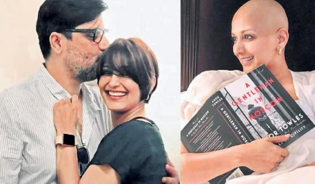 Sussanne Khan visits Sonali Bendre in US and shares emotional post - Sakshi