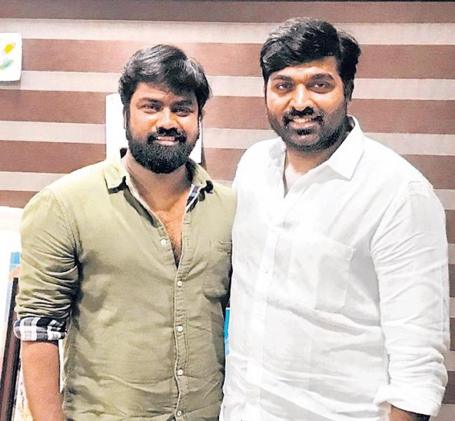 Vijay Sethupathi signs director Vijay Chander film - Sakshi