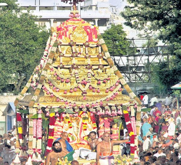 Venkateswara Swamy celebrations - Sakshi