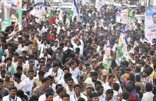 YS Jagan PrajaSankalpaYatra 259th Day Schedule Released - Sakshi