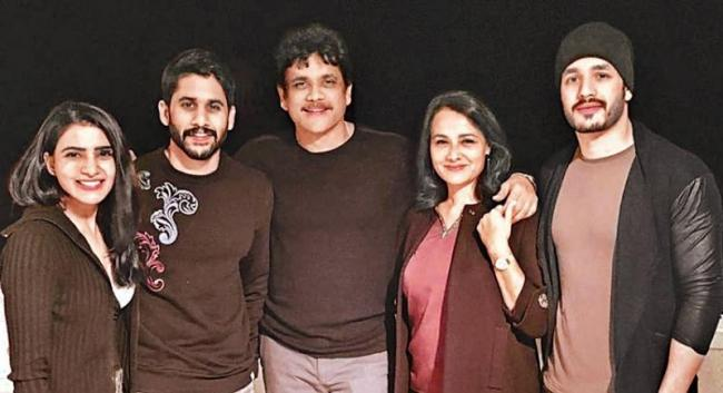 Akkineni Family in Holiday tour - Sakshi