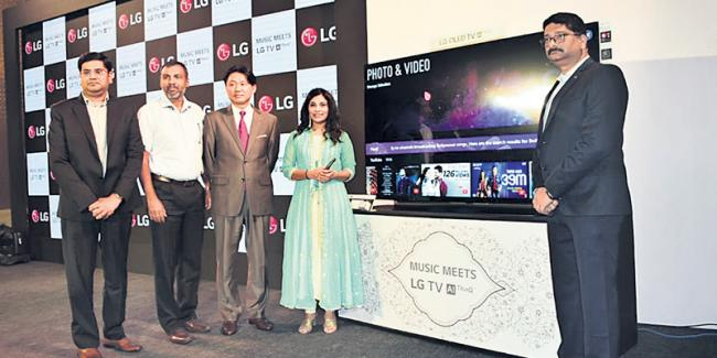 LG Electronics India launches AI-enabled TVs - Sakshi