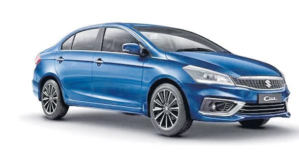 Maruti Ciaz takes top slot in premium sedan segment during Apr-Sep, FY 19  - Sakshi