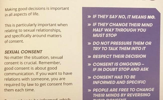 Notes On Sexual Consent In New Zealand Players Handbook - Sakshi