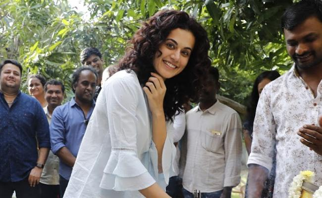 Taapsee Game Over Shoot Begins Today - Sakshi