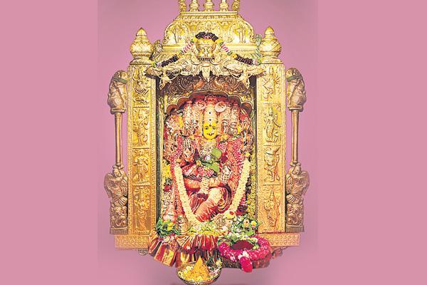 vijayawada devi navaratri alankaram 3rd day - Sakshi