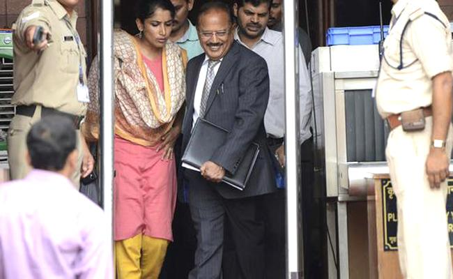 Why Ajit doval Gets promotion as Strategic Policy group Head - Sakshi
