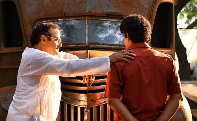 Kalyan Ram Look In NTR Biopic - Sakshi