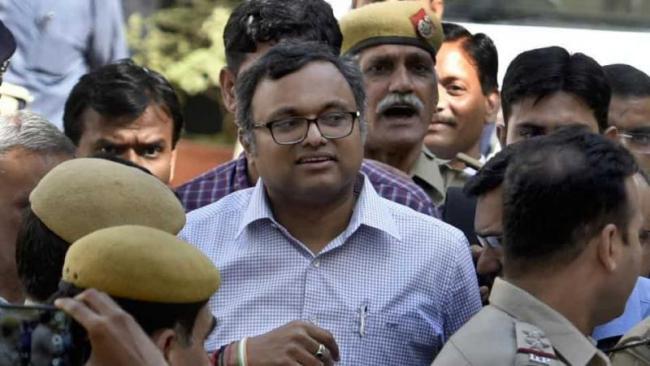 Karti Chidambarams Assets Seized  In Inx Media Case - Sakshi