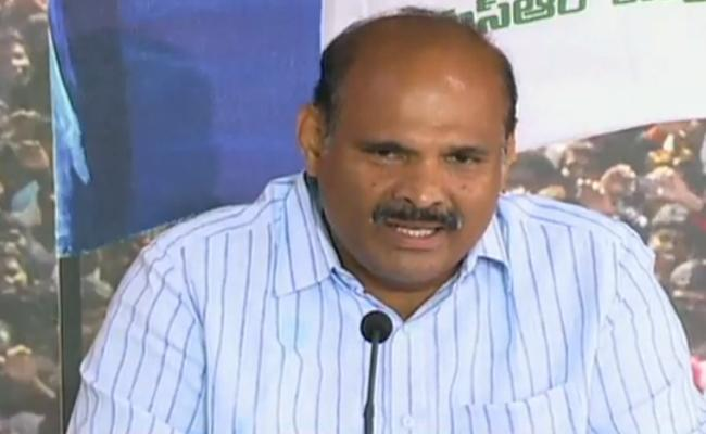 Chandrababu Destroyed All Systems In AP YSRCP Leader Parthasarathy - Sakshi