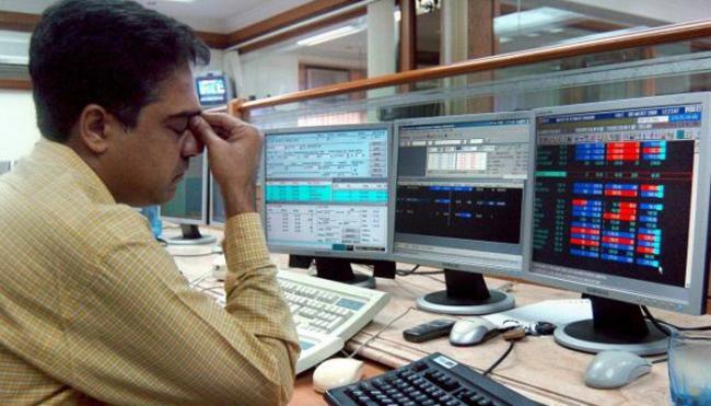 Sensex Ends 750 Points Lower - Sakshi
