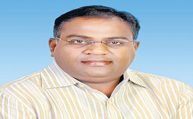 Nagam Janardhan Reddy Son Died Due To Illness - Sakshi