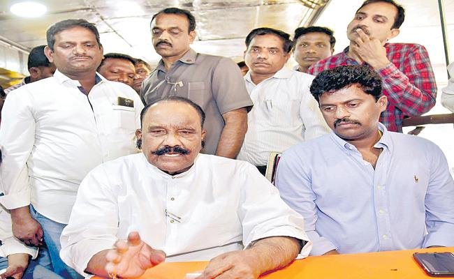 Naini Narshimha Reddy Disappointment Over Musheerabad MLA Ticket - Sakshi