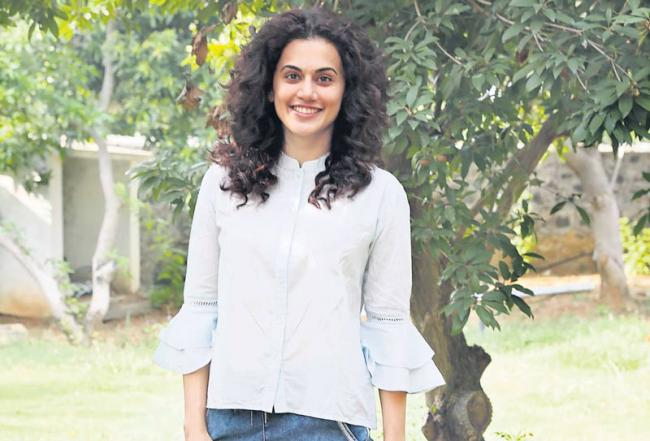 Actress Taapsee Game Over First Look Poster launch - Sakshi