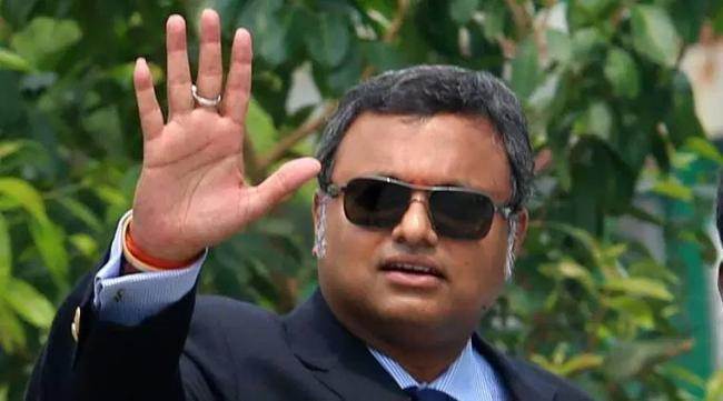 Karti Chidambaram's assets worth Rs 54 crore seized - Sakshi